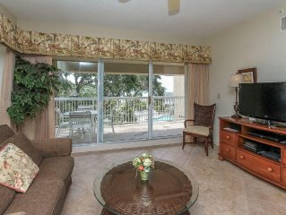 401 Barrington Arms ~ Luxury 2Br Oceanfront Condo with Tennis in Palmetto Dunes!