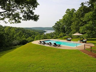 Luxury Lake View 12 Acre Estate with Private Heated Pool