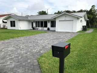 Newly Renovated 4/3 Upscale East Boca Home