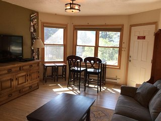 In the heart of Taos Ski Valley, walk to lifts & restaurants - no cleaning fee