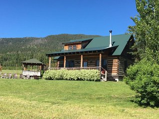 Historic Restored 1200 Sf Log Lodge Overlooking Flathead La