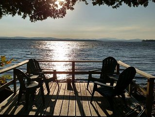 3 Bedroom/2 Bath Pet Friendly Right On Lake Champlain