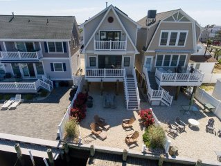 Waterfront New Home...1 Block To The Beach & Boardwalk!
