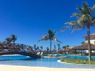 Acorde no Paraiso:MANDARA KAUAI! 5 minutos do Beach Park - Perfeito para grupos!