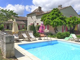 Elegant 18th Century Stone Farmhouse W/private Pool