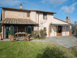 Tuscan Chianti Villa with 100% Private Pool-Enjoy Homemade Pizza&Wines