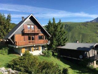 Saint Lary Soulan: appartement dans chalet individuel 1700 m