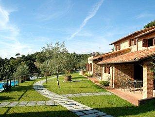 Ferienhaus Hillside pretty Home  in Citta della Pieve, Trasimenischer See - 8 Pe