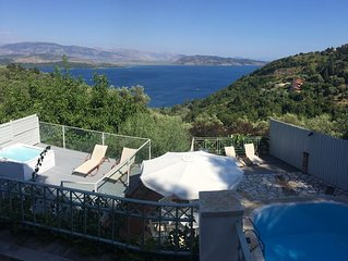 Villa Anastasia With Stunning Ionian Sea View and Private Pool