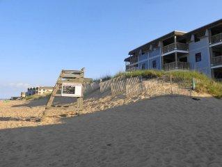 Affordable, Comfortable OBX Beachfront Condo - Atlantic Ocean views!