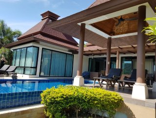 Beautiful Pool Villa In Balinese Style With Panoramic Views