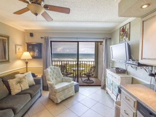Beautiful 1/1 Oceanfront Condo with Heated Pool!