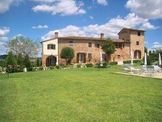 Villa in Certaldo with 2 bedrooms sleeps 4