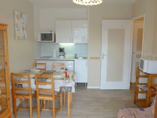 Apartment Fleur Marine  in Cabourg, Normandy - 4 persons, 1 bedroom