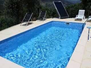 Rustic-Geres-Views River House - POOL AVAILABLE FROM JULY 2017!