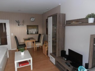 The renovated and equipped mordern approximately 40 square meters apartment is