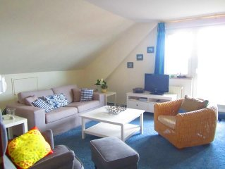 Spacious Non smoking rental in the second Floor, about 85 square meters with ba