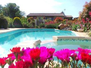 Villa indépendante avec piscine privée dans le Luberon (6 personnes)
