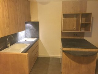 Apt 52 m2 for 6-7 People, 2 bedrooms, large balcony.