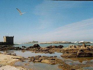 Le petit bleu a Essaouira