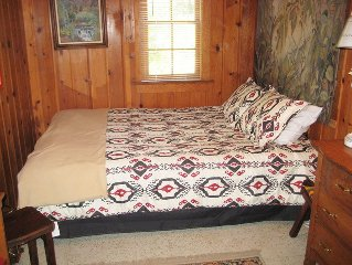 Rustic Cabin in Crowley Lake on McGee Creek available for month long stays. Grea