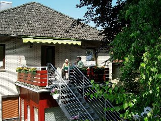 Apartment Ferienwohnung Poock  in Neuhaus, North Sea: Lower Saxony - 6 persons,