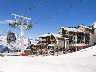 Apartment Les Montagnettes Kashmir  in Val Thorens, Savoie - 4 persons, 2 bedro