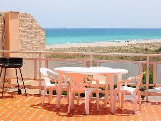 Apartment Playa Almarda Mar Azul  in Puerto Sagunto, Costa del Azahar - 6 perso