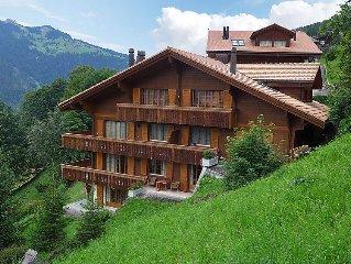 Ferienwohnung Panorama  in Wengen, Berner Oberland - 6 Personen, 3 Schlafzimmer