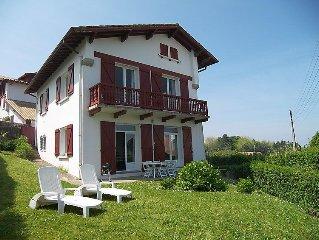 Ferienwohnung Villa Haizean  in Saint - Jean - de - Luz, Baskenland - 6 Personen