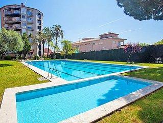 Ferienwohnung Edificio Blanqueries  in Calella, Barcelona Costa Norte - 6 Person