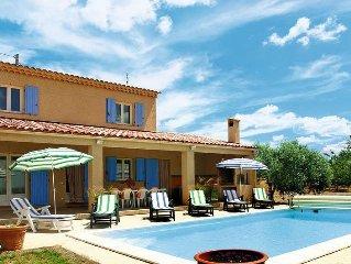 Vacation home in La Verdiere, Cote d'Azur hinterland - 10 persons, 4 bedrooms
