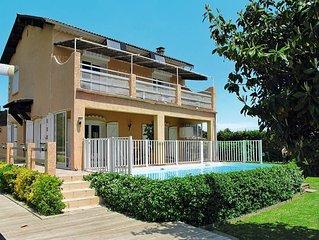 Vacation home Villa La Cerisaie  in Ste. Lucie de Moriani, Corsica - 8 persons,