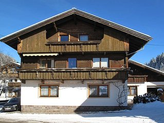 Apartment Haus Brent  in Wildschönau, Kitzbühel Alps - 7 persons, 3 bedrooms