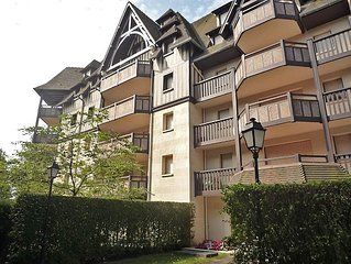 Apartment Le Fairway  in Deauville - Trouville, Normandy - 4 persons, 1 bedroom
