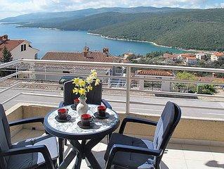 Ferienwohnung Haus Klara  in Rabac, Istrien - 4 Personen, 2 Schlafzimmer