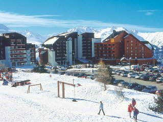Apartment Residence Ecrin d'Huez  in Alpe d'Huez, Isere - 7 persons, 2 bedrooms