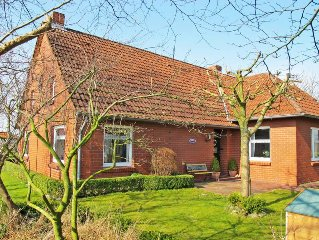 Vacation home Landhaus am Kleeweg  in Osteel, North Sea: Lower Saxony - 5 perso
