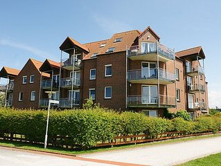 Apartment Meerblick  in Norddeich, North Sea - 2 persons, 1 bedroom