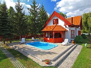 Vacation home Balaton H458  in Balatonbereny, Lake Balaton - South Shore - 8 pe
