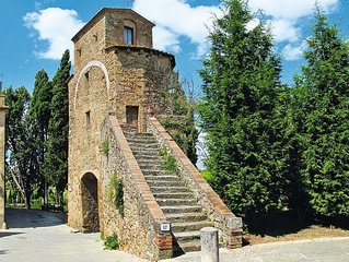 Vacation home Torre Cappuccini  in San Quirico d'Orcia (SI), Siena and surround
