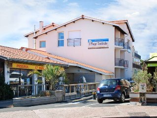 Apartment Residence Plage Central  in Hossegor, Aquitaine - 5 persons, 1 bedroom