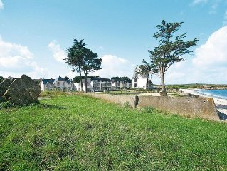 Apartment Domaine des Roches Jaunes  in Plougasnou, Finistere - 4 persons, 1 be