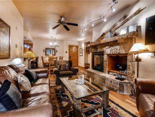 Western Style Condo with Impressive Mtn View Steps Away from Pool & Fire Pit