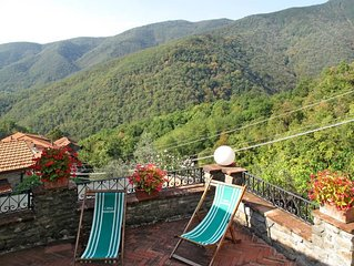 Vacation home Casa Flora  in Villecchia (MS), Riviera della Versilia - 4 person
