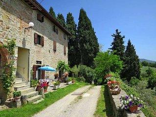 Apartment Podere Belvedere  in Castelfranco di Sopra (AR), Florence and surroun