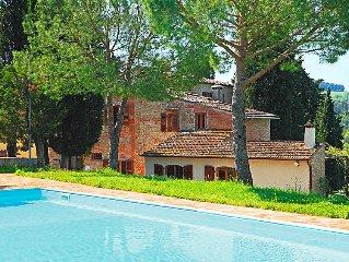 Ferienwohnung Il Poggio  in Montelupo Fiorentino, Florenz und Umgebung - 4 Perso