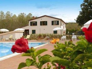 Country estate La Steccaia in Montescudaio  in Riviera degli Etruschi - 6 perso