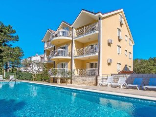 Apartment Villa Anna  in Jadranovo, Kvarner Bay - 4 persons, 1 bedroom