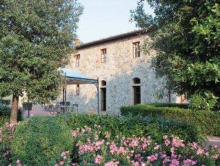Apartment Tenuta Le Gallozzole  in Monteriggioni / Castellina, Siena and surrou